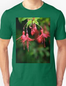 Fuchsia Hedge at Loch Na Fooey 3 Unisex T-Shirt