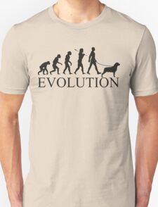 EVOLUTION rottweiler T-Shirt