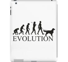 EVOLUTION golden retriver iPad Case/Skin