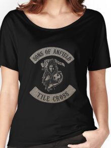 Sons of Anfield - Tile Cross Women's Relaxed Fit T-Shirt