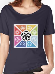 TrianglesSymbolsEC Women's Relaxed Fit T-Shirt