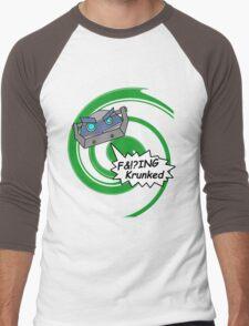 F&!?ing Krunked Men's Baseball ¾ T-Shirt