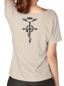 Fullmetal Alchemist Flamel - Black Women's Relaxed Fit T-Shirt