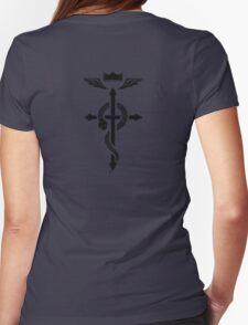 Fullmetal Alchemist Flamel - Black Womens Fitted T-Shirt