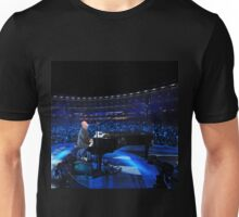 BILLY JOEL LIVE BLUE BLACK Unisex T-Shirt