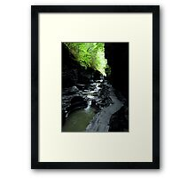 Watkins Glen Gorge II Framed Print