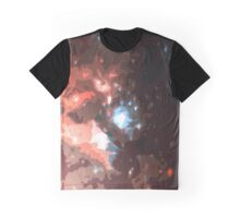 Stellar Blast Nebulae Graphic T-Shirt