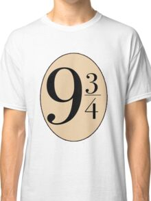Harry potter platform 9 3/4 Classic T-Shirt