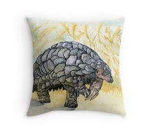 Little Pangolin Throw Pillow