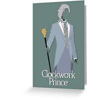 "James ""Jem"" Carstairs   Clockwork Prince Greeting Card"
