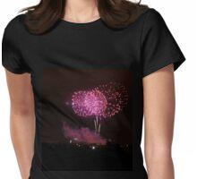Edinburgh Festival Fireworks - 4 Womens Fitted T-Shirt