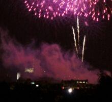 Edinburgh Festival Fireworks - 4 Sticker