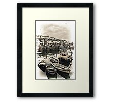 Fishing Boats Framed Print