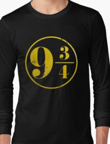 Harry potter platform 9 3/4 Long Sleeve T-Shirt