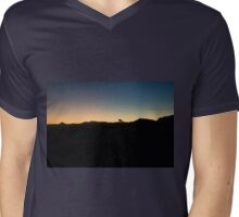 Dividing Line ~ Twilight Zone  Mens V-Neck T-Shirt