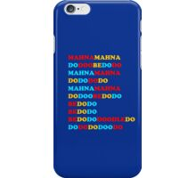 MAHNA MAHNA MUPPETS T SHIRT ETC iPhone Case/Skin