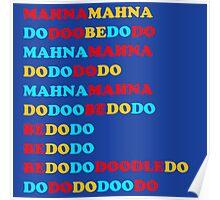 MAHNA MAHNA MUPPETS T SHIRT ETC Poster