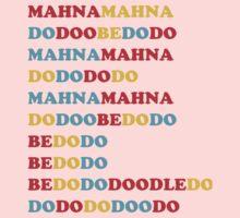 MAHNA MAHNA MUPPETS T SHIRT ETC One Piece - Short Sleeve