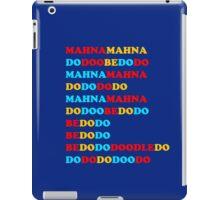 MAHNA MAHNA MUPPETS T SHIRT ETC iPad Case/Skin