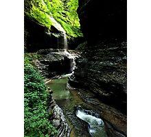 Watkins Glen Gorge III Photographic Print