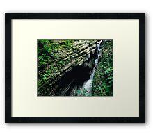 Watkins Glen Gorge IV Framed Print