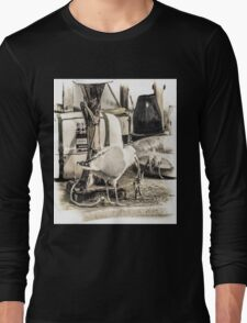 Seagull with Starfish Long Sleeve T-Shirt