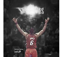 Lebron James MVP Photographic Print