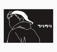 FLCL Naota cap One Piece - Long Sleeve