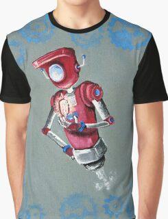 Robot Flash Graphic T-Shirt