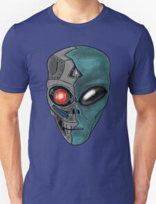 Cyborg Alien  Unisex T-Shirt