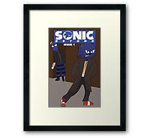 """Sonic Beyond"" Concept Framed Print"