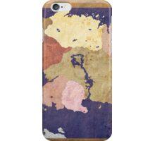 Elders scrolls simple map iPhone Case/Skin