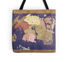 Elders scrolls simple map Tote Bag