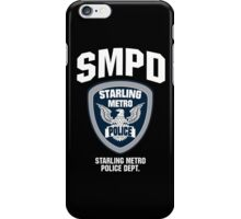 Starling Metro City Police Department iPhone Case/Skin