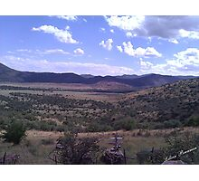 West Texas View Photographic Print