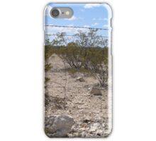 Through the Barbed Wire Fence iPhone Case/Skin