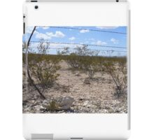 Through the Barbed Wire Fence iPad Case/Skin
