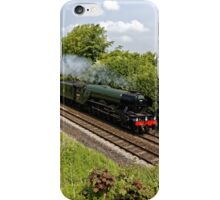 A3 Class 60103 Flying Scotsman Steam Locomotive iPhone Case/Skin