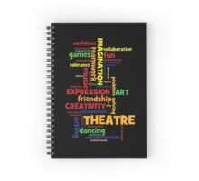Benefits of Theatre Arts Education Spiral Notebook