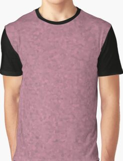 Pastel Pink Cell Camo Graphic T-Shirt