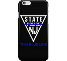 New Jersey State Police - Thin Blue Line iPhone Case/Skin
