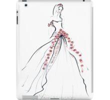 Bride & Roses iPad Case/Skin