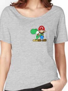 Mario and Yoshi Women's Relaxed Fit T-Shirt