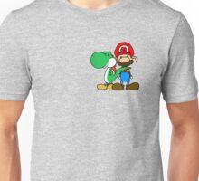 Mario and Yoshi Unisex T-Shirt