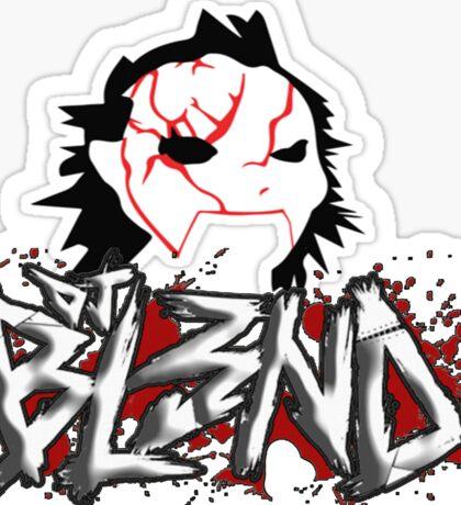 DJ blend Sticker
