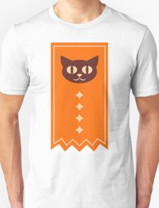 Orange Kitty Cat Unisex T-Shirt