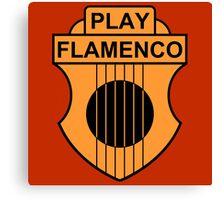 Play Flamenco Canvas Print