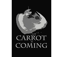 Carrot Is Coming Photographic Print