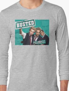 Busted Pigs Can Fly Long Sleeve T-Shirt