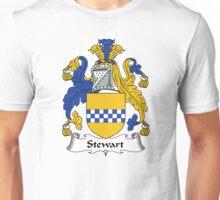 Stewart Coat of Arms / Stewart Family Crest Unisex T-Shirt